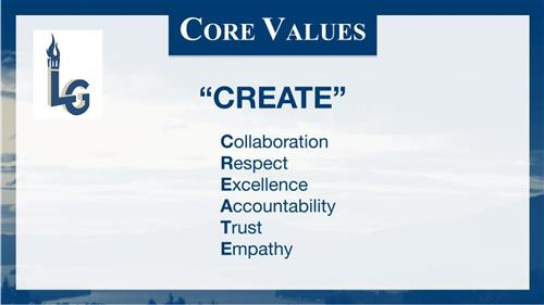LGCSD Core Values
